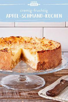 Apple Cake Recipes, Apple Desserts, Easy Cake Recipes, Chocolate Desserts, Easy Desserts, Sweet Recipes, Cookie Recipes, Dessert Simple, Cake Simple