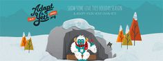 Adopt A Yeti And Other Cool Website Designs Inspire