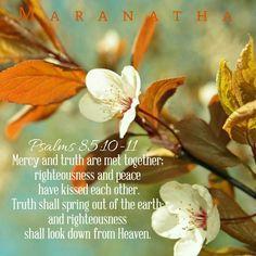 SURELY HIS SALVATION IS NIGH THEM THAT FEAR HIM  ! #MARANATHA  #Psalms 85:1-13 (KJV)