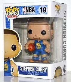 Nba Stephen Curry, Warriors Stephen Curry, Vinyl Figures, Action Figures, Nba Golden State Warriors, Pop Figurine, Nba Live, Pop Characters, Funko Pop Vinyl