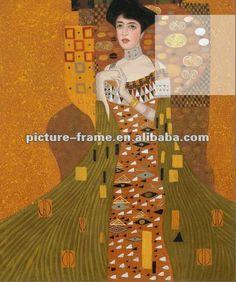 Portrait Of Adele Bloch-bauer 1,1907 By Gustav Klimt - Buy Portrait Of Adele Bloch-bauerby Gustav Klimt,Painting,Oil Painting Product on Ali...
