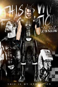 This is my Evolution! @WWERollins #MrMITB #FutureOfRollins