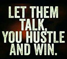 You're all talk, We #teamwinning ;)