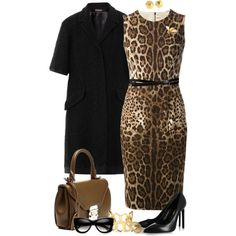 Leather Lace and Leopard by angela-windsor on Polyvore