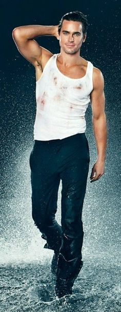 "Matt Bomer - all wet and ""Magical"""