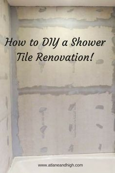 How to Install Bathroom Wall Tiles I am so excited to share with you my latest DIY project! We did a semi-remodel in my daughter's bathroom, we tore down all the tile in the shower, fixed some damage then installed new bathroom wall tiles. Diy Bathroom Remodel, Shower Remodel, Diy Bathroom Decor, Bathroom Renovations, Bathroom Makeovers, Bathroom Ideas, Diy Bathroom Tiling, Bathroom Vanities, Tiling Shower Walls