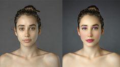 Foto Photoshop bewijst: in elk land een ander schoonheidsideaal