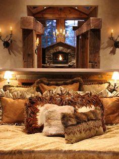 Rustic romantic retreat