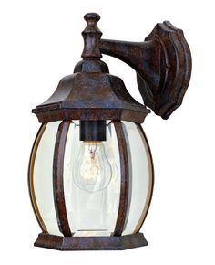 Hampton bay mission style black with bronze highlight outdoor wall hampton bay mission style black with bronze highlight outdoor wall lantern with built in electrical outlet gfci pinterest electrical outlets aloadofball Images
