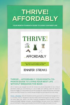 Thrive! Affordably