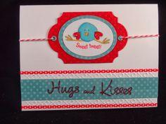 Uniquely Me: Sweet Tweet Valentine card