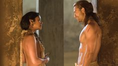 Gannicus & Melitta   Stay with me   Spartacus: Gods of the Arena