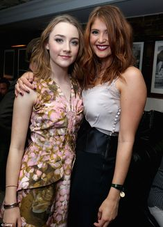 Girl crush: Saoirse Ronan & Gemma Arterton