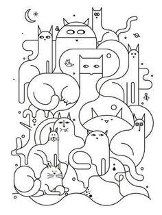 고양이 집사들을 위한 프랑스자수도안 : 네이버 블로그