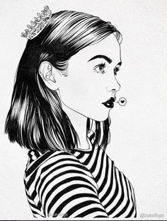 ღThe Woman İllustrationsღ  Pinterest: @BeyondLady