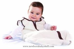 Baby Boy Clothes Baby Deedee Sleep Nest Baby Sleeping Bag, Cookies and Cream, Small