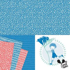 Working with a new set of #greetingcards and #giftwrappingpapers #pattern #illustration #patterndesign #designsforkids