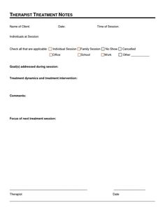 Case Notes Template  Case Management Progress Note  Doc  Case