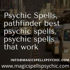 Psychic Spells: If you think psychics are only good at reading Tarot cards, or predicting the future (as well as unearthing the past), think again. Love Spell That Work, Lost Love Spells, Past Life Regression, Money Problems, Magical Power, Psychics, Psychic Abilities, Phobias, Holistic Healing