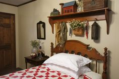 Country/prim bedroom