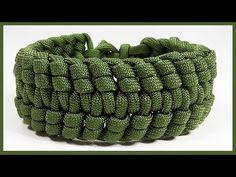 "Paracord Bracelet Tutorial: ""Knuckle Up"" Bracelet Design Without Buckle - YouTube"