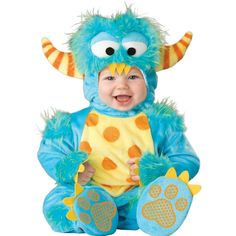 InCharacter Lilu0027 Dragon Infant Fancy Dress Baby Blue Costume Outfit 0-24 Months | Pinterest | Blue costumes Infant and Costumes  sc 1 st  Pinterest & InCharacter Lilu0027 Dragon Infant Fancy Dress Baby Blue Costume Outfit ...
