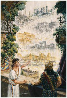 Daniel interprets Nebuchadnezzar's dream Daniel 2:28