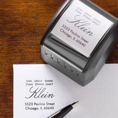 Housewarming Gift: Self-Inking Stamper