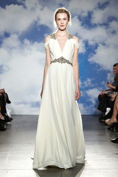 Jenny Packham Spring 2015. See all of the best looks from Bridal Week here.