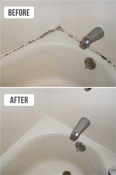 Mould on bathtubs
