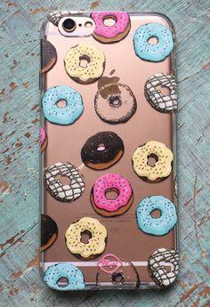 Carcasa Celular : Donuts