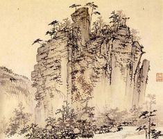 Kim Hong-do Korean artist Landscape Zen Painting, Korean Painting, Chinese Painting, Figure Painting, Chinese Art, Traditional Paintings, Korean Artist, Conceptual Art, Art Google
