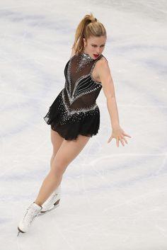 Ashley Wagner. Ladies' short program. World Figure Skating Championships 2014. Saitama/Japan