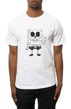 http://www.karmaloop.com/product/Squarepants-Skull-TShirtWhite/535305