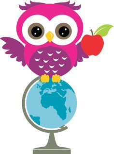 Image result for cute owls clip art back to school