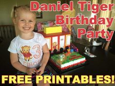 Free Daniel Tiger Party Printables