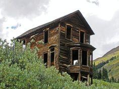 Animas Forks, Silverton Colorado. Governor's mansion /www.rockymountainprofiles.com