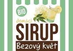 """Návrh etikety na """"bio domácí sirup"""""""