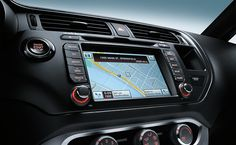 2015 Kia Rio FUNctional- Get there with GPS navigation & SiriusXM services.