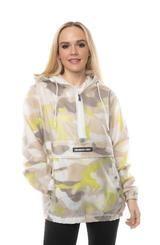 Men's Translucent Camo Print Popover Jacket for Women – Members Only® Official Members Only Jacket, Rain Jacket, Bomber Jacket, Half Zip Pullover, Rain Wear, Camo Print, Vinyls, Cool Kids, Color Blocking