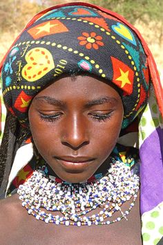African Tribes | West Nuba Mountains // fulani soedan women tribe africa afrika ...