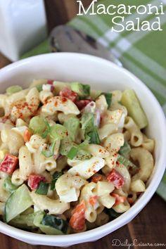 Macaroni Salad Recip