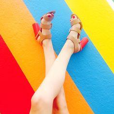 #dresscolorfully ibarra heels