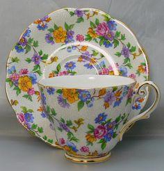 Vintage Tea Cup & Saucer Royal Standard Bone China
