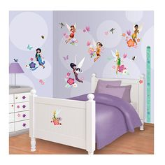 Disney Fairies Stickers to transform your girls room into a magical & mystical world. Re moveable & re stickable stickers of the highest sticker quality Girls Wall Stickers, Room Stickers, Wallpaper Stickers, Kitchen Wall Stickers, Vinyl Wall Stickers, Wall Decals, Bedroom Murals, Bedroom Wall, Kids Bedroom