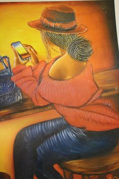Eric Ombija Kenya, Mona Lisa, Celebrities, Artwork, Painting, Celebs, Work Of Art, Auguste Rodin Artwork, Painting Art