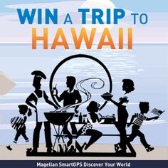 Enter to WIN a Coleman BBQ Road Trip Grill + a trip for 2 to Hawaii! Enter now! #SmartGPS #Hawaii #Giveaway