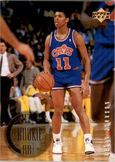 Basketball Pictures, Basketball Cards, Basketball Players, Basketball Court, Kevin Johnson, Nba Stars, Phoenix Suns, Upper Deck, Aba