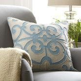 Found it at Birch Lane - Estelle Linen Pillow Cover, Blue