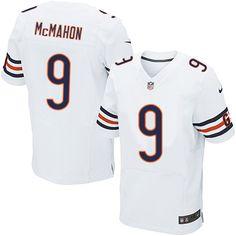 dd1f190c Nfl Chicago BearsMens ClothingNfl JerseysNavy Nike Elite Jim McMahon White  Mens Jersey - Chicago Bears 9 NFL Road. Robbie GouldNike ...